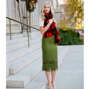 Rachel Parcel Pine Green Skirt